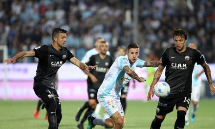 Serie B, Pari tra Virtus Entella e Ascoli nell'andata dei Play Out.