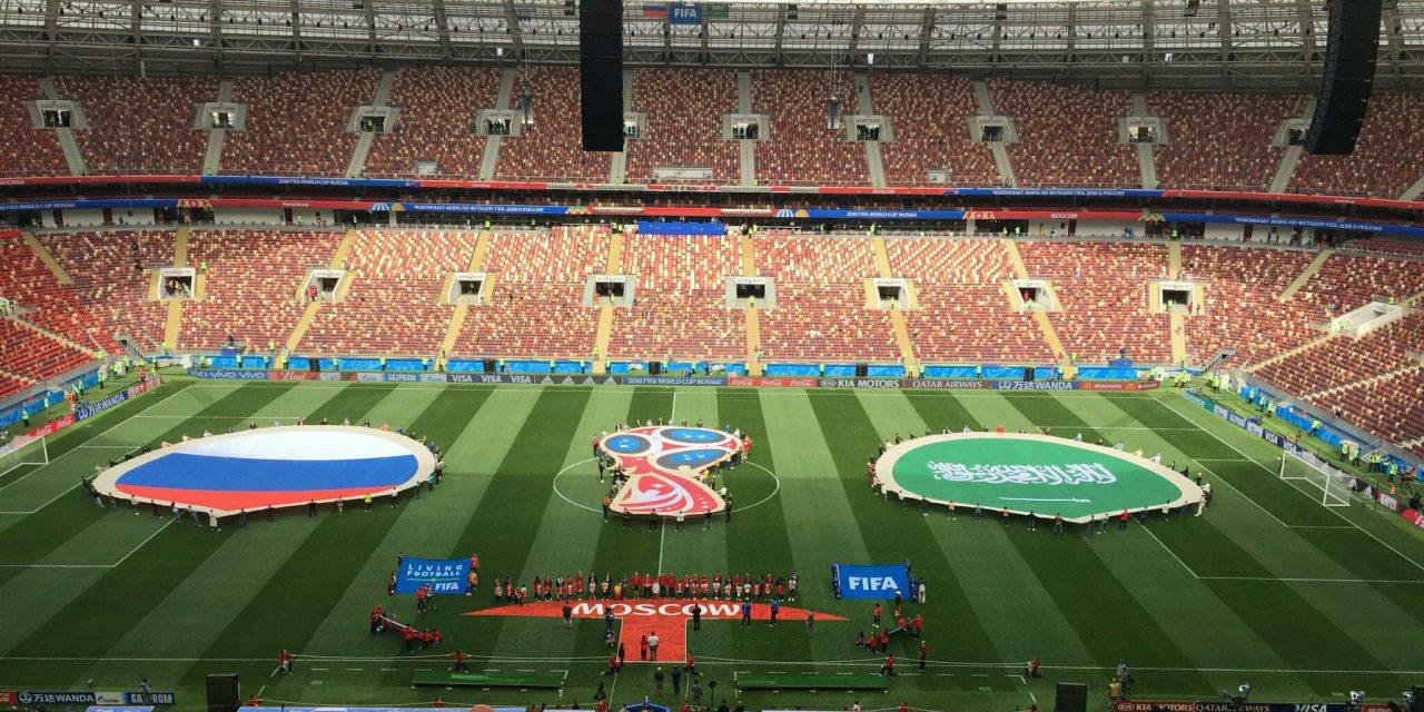 Mondiali Russia 2018, formazioni ufficiali di Russia-Arabia Saudita