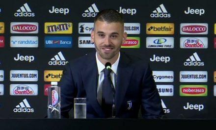 """Spinazzola si presenta:""""Felice di essere qui"""""""