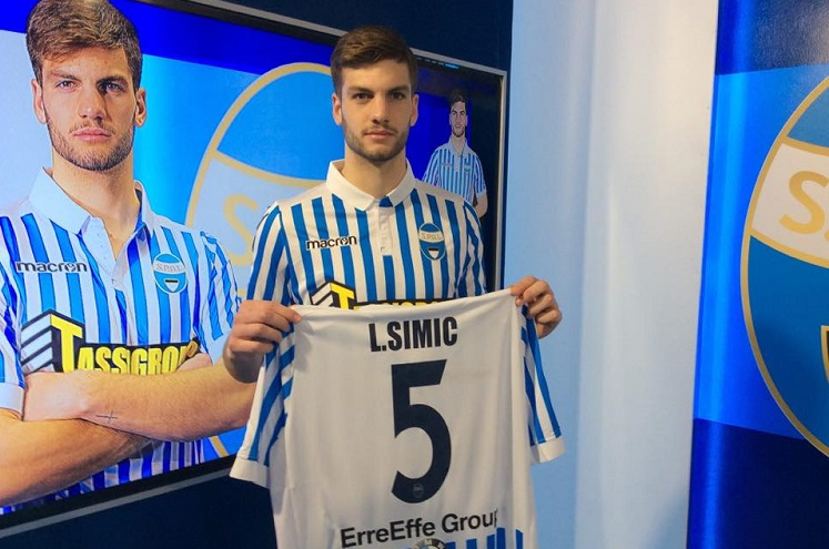 Infortunio per Simic, non convocato contro l'Empoli